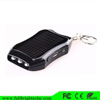 China Ultra Newest Power mini Solar Power bank With LED Flashlights To Dark