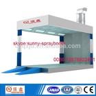 car polish prep station spray booth /car polish booth
