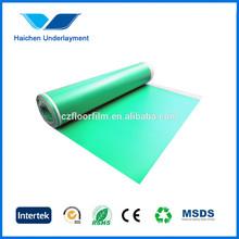 Changzhou High quality IXPE moisture barrier foam underlay formula polyurethane foam