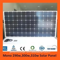 Price for Solar Panel 300w, Promotional Solar Panel 310w Mono panel