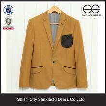 V-neck New Design Men Fashion 2015 Business Suit