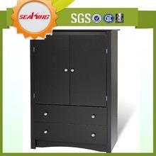 Low price sliding door modular bedroom wardrobe