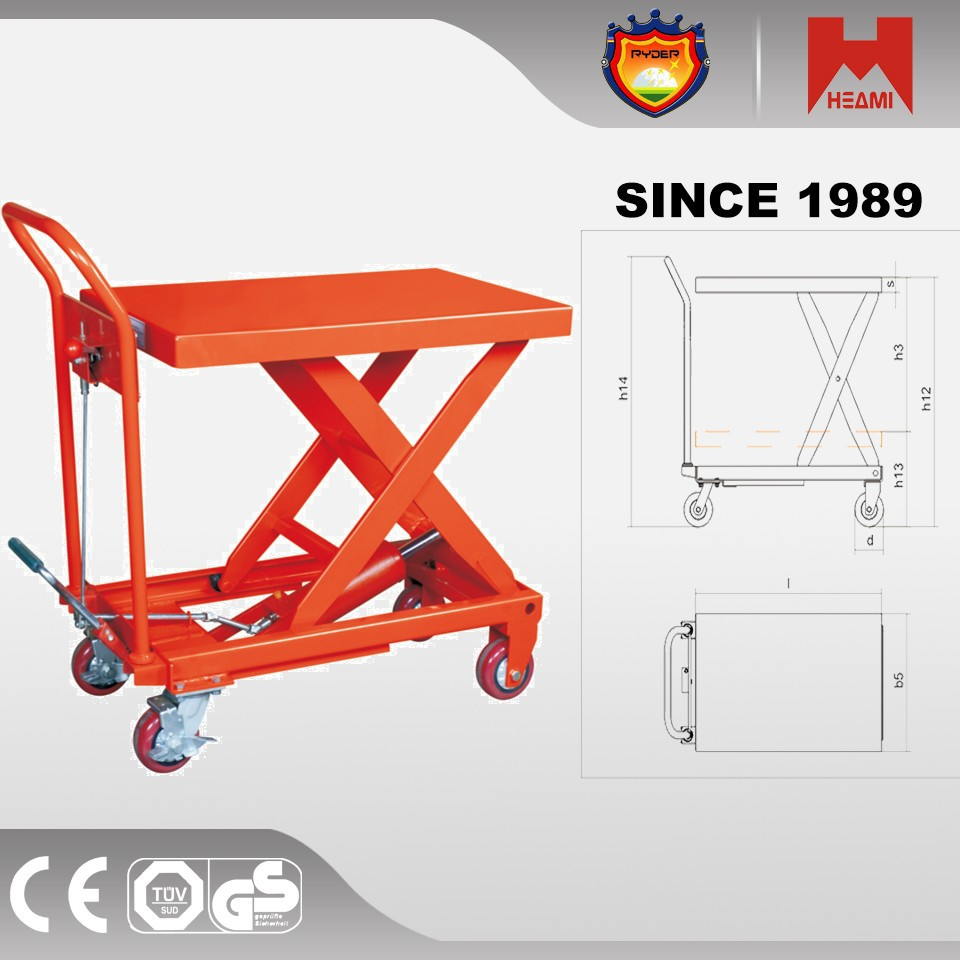 Scissor Lift Designs New Design Hand Manual Lift