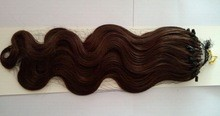 China best factory direct sale wholesale price top quality 100% human micro-ring hair extensions