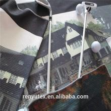 100%microfiber golf towels ,digital print,large Size Polyester Microfiber Fabric Branded Printing