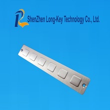 High quality Long stick metal keypad access control