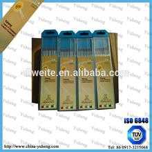 ISO6848 wolfram tungsten electrode welding