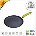 Alumínio não- stick cerâmica/revestimento de mármore redonda pan chapa/frigideira