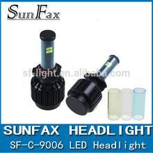 2015 NEW Design 40 W 3600lm 9006 led headlight lamp for car