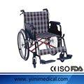 Durable caliente venta con cordones silla de ruedas dimensiones