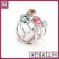 Anillo de ópalo de fuego anillo de plata con piedra del ópalo