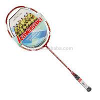 KAWASAKI,1700,Red,for beginner,beautiful,100% Carbon fiber,Badminton Racket