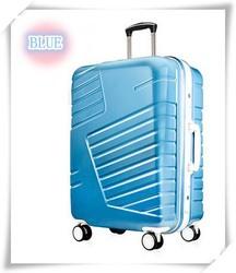 4 wheels ABS PC travel luggage set,suitcase set