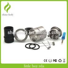 2015 Newest 1:1 Clone little boy Rda Atomizer Adjustable Airflow little boy 22mm rda