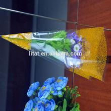 plastic sleeves for flowers