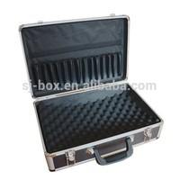 Black Customized Aluminum Tableware Tools Case