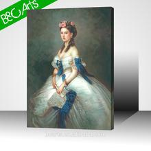 2015 classical potrait woman print picture