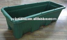 studley window box planter, 30-Inch, brown/green