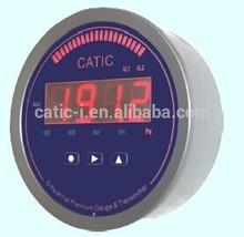 Economical Ultra-thin digital air pressure gauge with buzzer alarm