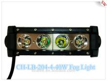 10-30V/DC 4*10W wateproof IP67 black body color 2800lm LED fog light for car
