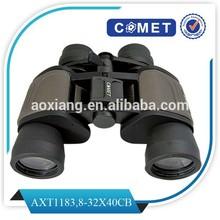Best selling 8-32x40 cute binoculars,rubber eyecup binoculars