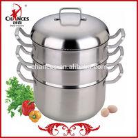 30cm Stainless Steel Steamer Pot