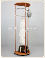 Coat hanger rack and hat tree