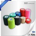 No- tejido de auto- adhesivo elástico vendaje