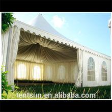 Fireproof 5*5m outdoor sunshine leisure tents