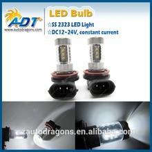 2015 nuevos productos y caliente 12v auto led bombilla h11 ss2323 16 vatios accesorios del coche