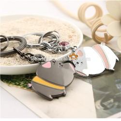 Promotional Key Rings 2015 Hot Sale Wholesale Custom Keychain Promotion Metal Key Chain