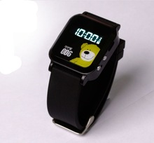 Double Locate GPS GSM GPRS Tracker Watch Remote Monitor For Child The Old