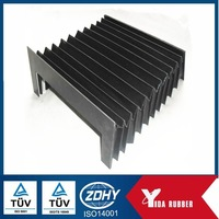 EPDM accordion rubber bellows/molded corrugated rubber sleeves