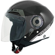 DOT,ECE Certified 3/4 Open Face Helmet anti-scratch, anti-UV Visor