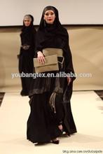 abaya fabric material / Nida /Fursan/Wool peach /wool chiffon /Maliky /Lexus