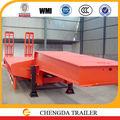 2015 los fabricantes chinos de tri eje 60 ton remolque towhaul lowboy camiones