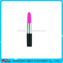 promotional novelty ballpoint pen plastic lipstick pen