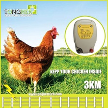 Australia battery power electric fence energizer / chicken fence charger for animals