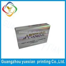 Custom design handmade soap kraft paper box