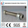 Alta qualidade 1 polegada de metal em aço inoxidável trança flexível mangueira e acessórios
