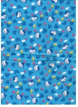 Chief Value of Cotton Kitty Print Pigment Printing Brushed Plain Woven Flannel Made In China