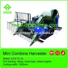 Machine agricole lz- 0.7( 1.2) moissonneuse batteuse de riz