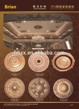 hard surface Polyurethane (PU) exterior and interior moldings