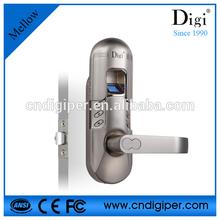 smart single latch office use fingerprint lock 6600-98