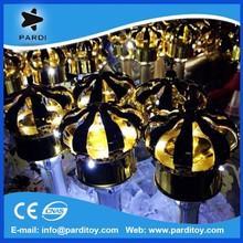 Super Hot Led crown champagne bottle cap light in the dark