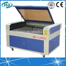 HG-1290 High Precision 3D Laser Engraving Machine/Laser Cylinder Engraving Machine For Sale