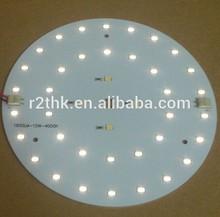 UL&Rohs Shenzhen PCB & PCBA Design Panel Light Aluminium LED Board PCBA Assembly