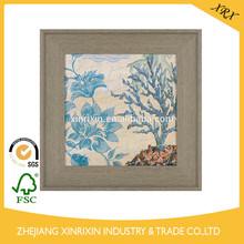 Blue Seahorse II Framed Art Print