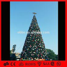 China da árvore de natal bola de vidro decoração da árvore de bordo branca decoração da árvore de led