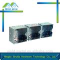 venta al por mayor personalizado conducto eléctrico cajas de interruptor con certificación iso